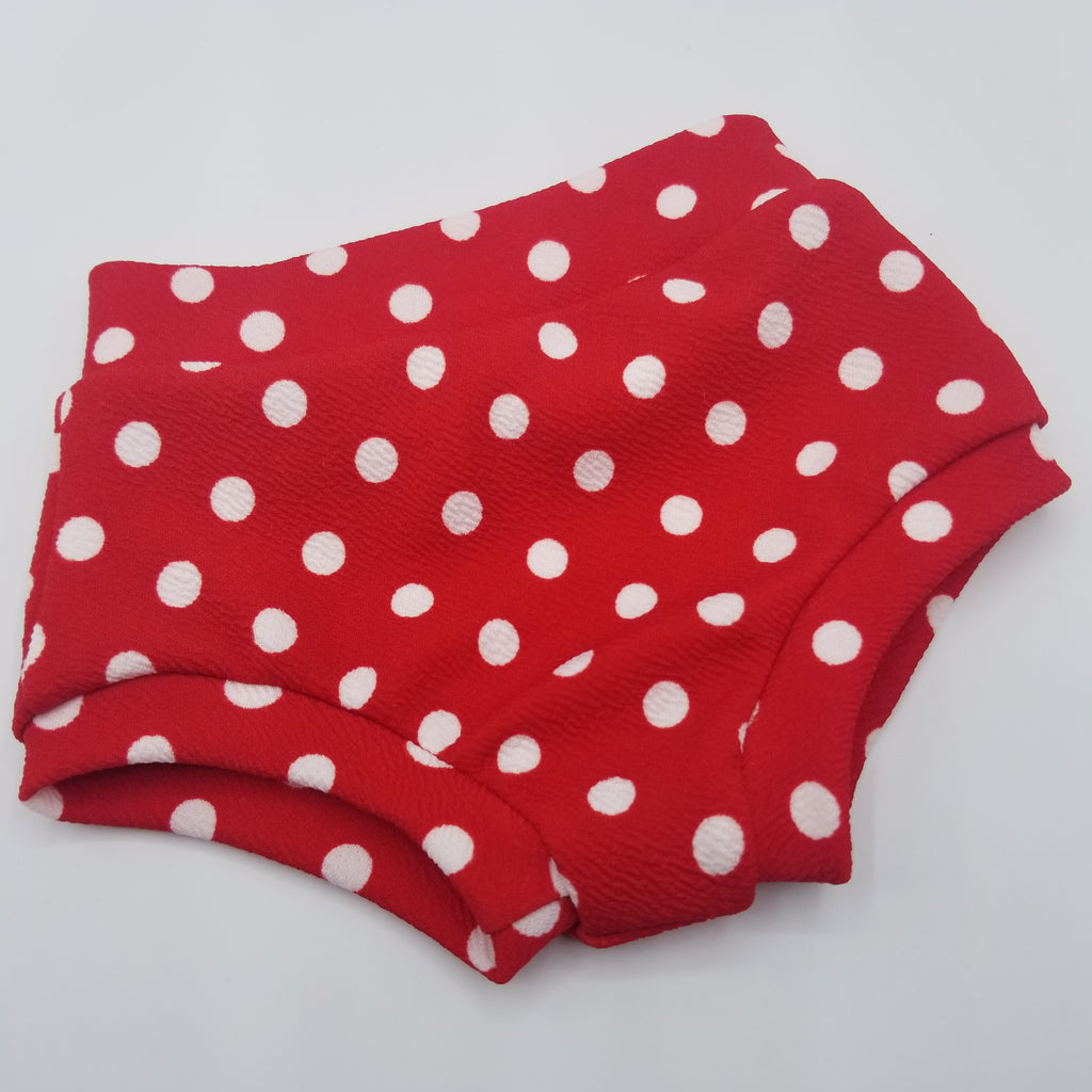 Red Polka Dot Bummies