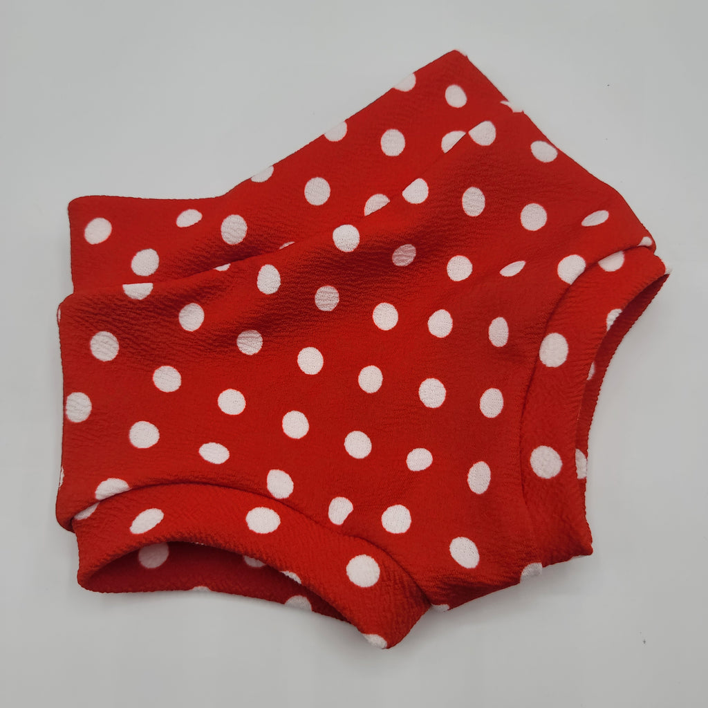 Red Polka Dot RTS Bummies