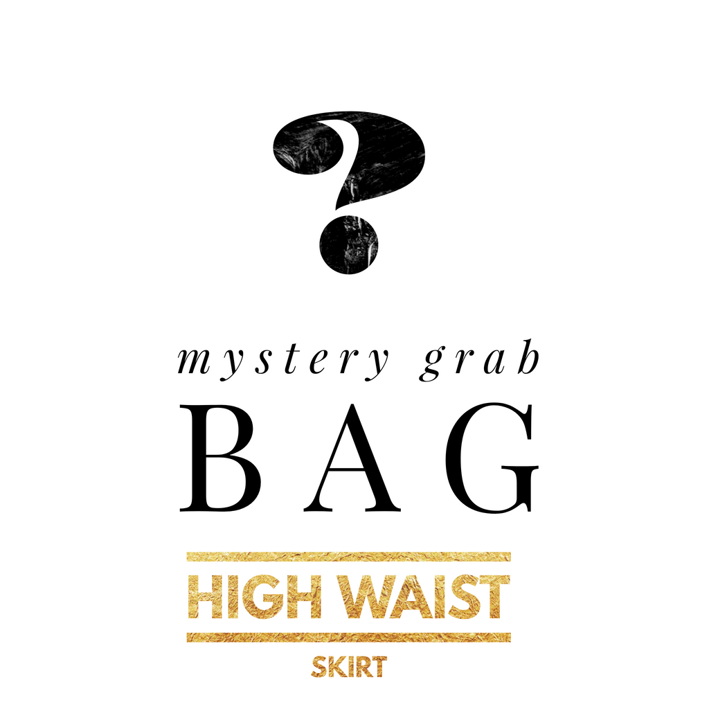 Mystery Grab Bag High Waist Skirt