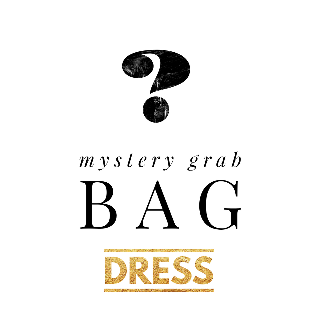 Mystery Grab Bag Solid Dress