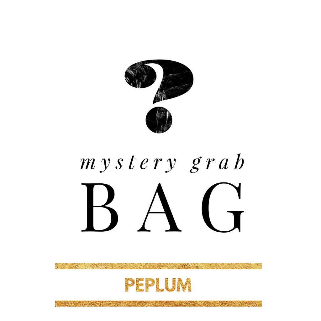 Mystery Grab Bag Peplum