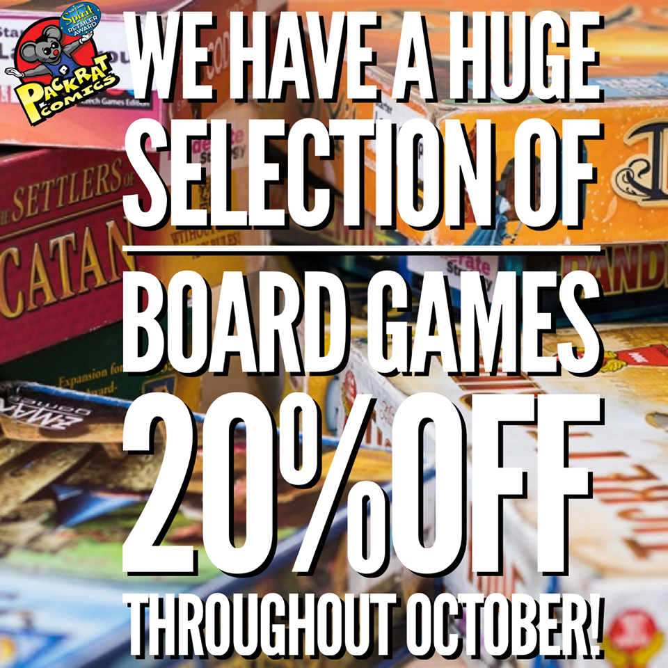 Celebrate Board Games with 20% Savings