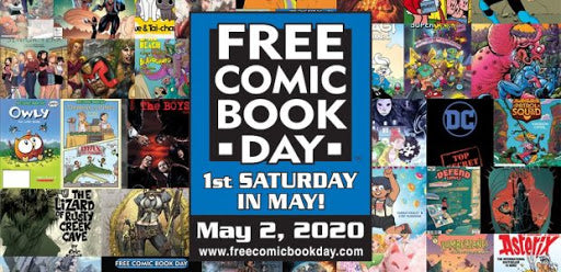 Free Comic Book Day Food Drive  COVID19 UPDATE