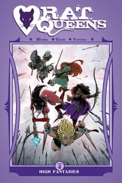 RAT QUEENS TP VOL 04 HIGH FANTASIES (MR) - Packrat Comics