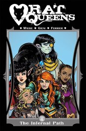 RAT QUEENS TP VOL 06 INFERNAL PATH (MR) - Packrat Comics