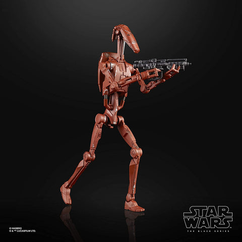 Star Wars The Black Series Battle Droid (Geonosis) Toy 6-inch Scale Attack of The Clones Collectible Figure, Kids Ages 4 and Up