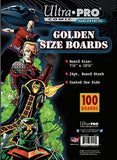 GameWear Ultra Pro Golden 7 1/2 x 10 1/2 Comic Boards