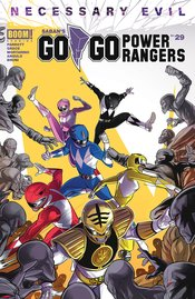 GO GO POWER RANGERS #29 CVR A MAIN CARLINI (C: 1-0-0) - Packrat Comics