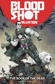 BLOODSHOT SALVATION TP VOL 02 THE BOOK OF THE DEAD - Packrat Comics