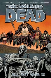 WALKING DEAD TP VOL 21 ALL OUT WAR PT 02 (MR) - Packrat Comics
