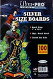 Ultra Pro Comic Series Silver Size Boards 1 Pack 7x10.5 24pt (100 Total Boards) - 80252