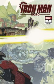 IRON MAN 2020 #3 (OF 6) BIANCHI CONNECTING VAR - Packrat Comics