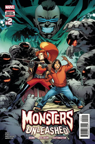 MONSTERS UNLEASHED #2