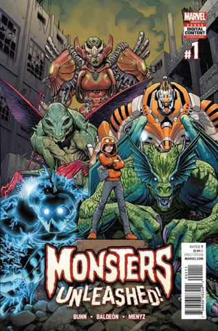 MONSTERS UNLEASHED #1 - Packrat Comics