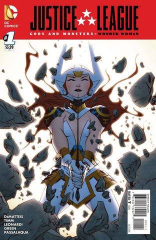 JLA GODS AND MONSTERS WONDER WOMAN #1 - Packrat Comics