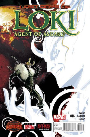 LOKI AGENT OF ASGARD #16 SWA - Packrat Comics