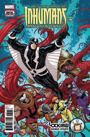 INHUMANS ONCE FUTURE KINGS #5 (OF 5) - Packrat Comics