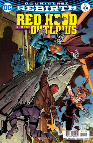 RED HOOD AND THE OUTLAWS #5 - Packrat Comics