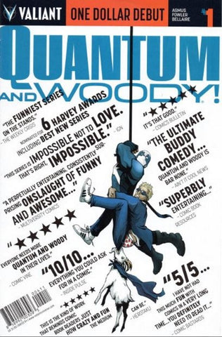 QUANTUM & WOODY #1 ONE DOLLAR DEBUT ED - Packrat Comics