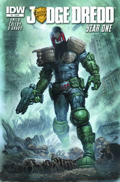 JUDGE DREDD YEAR ONE #3 - Packrat Comics