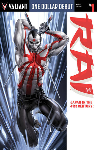 RAI #1 ONE DOLLAR DEBUT ED (NEW PTG) - Packrat Comics