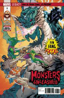 MONSTERS UNLEASHED #8 LEG