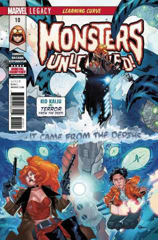 MONSTERS UNLEASHED #10 LEG - Packrat Comics