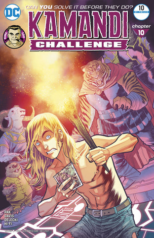 KAMANDI CHALLENGE #10 (OF 12) - Packrat Comics