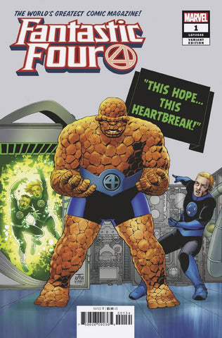 FANTASTIC FOUR #1 CASSADAY VAR