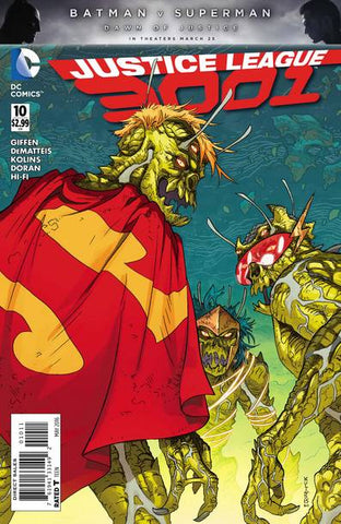 JUSTICE LEAGUE 3001 #10 - Packrat Comics