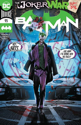 BATMAN #95 JOKER WAR