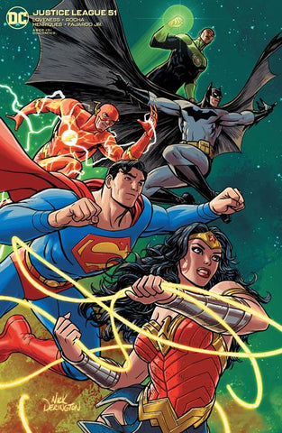 JUSTICE LEAGUE #51 VAR ED
