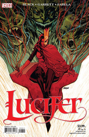 LUCIFER #8 (MR) - Packrat Comics