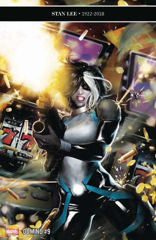 DOMINO #9 - Packrat Comics