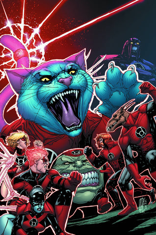 RED LANTERNS #30 - Packrat Comics