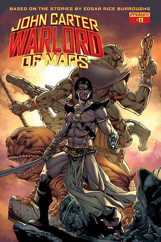 JOHN CARTER WARLORD #11 (OF 14) CVR A CASAS (MR) - Packrat Comics