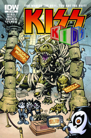 KISS KIDS #3 (OF 4) - Packrat Comics