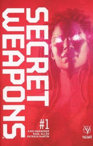 SECRET WEAPONS #1 CVR K ALLEN - Packrat Comics