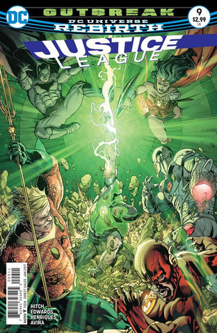 JUSTICE LEAGUE #9 - Packrat Comics