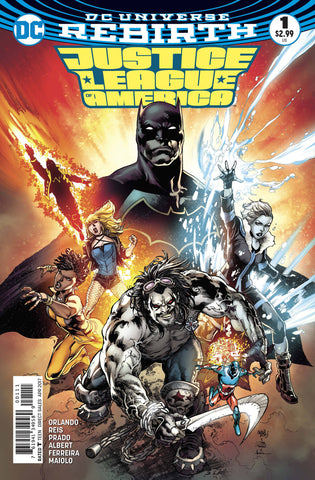 JUSTICE LEAGUE OF AMERICA #1 - Packrat Comics