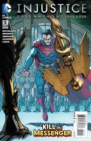INJUSTICE GODS AMONG US YEAR FOUR #5 - Packrat Comics