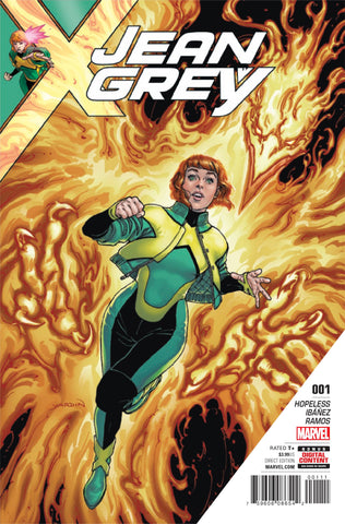 JEAN GREY #1 - Packrat Comics
