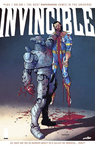 INVINCIBLE #121 - Packrat Comics