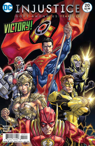 INJUSTICE GODS AMONG US YEAR FIVE #20 - Packrat Comics