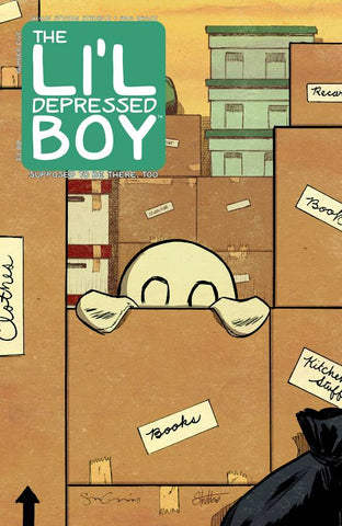 Lil Depressed Boy Supposed To Be There Too #5 - Packrat Comics