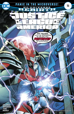 JUSTICE LEAGUE OF AMERICA #16 - Packrat Comics