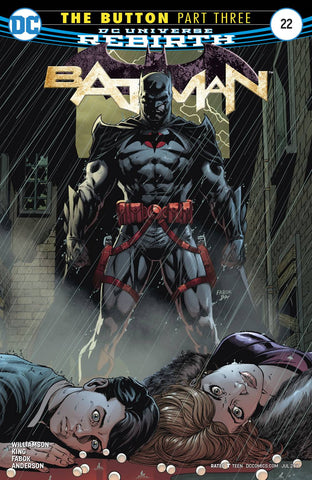 BATMAN #22 (THE BUTTON) - Packrat Comics