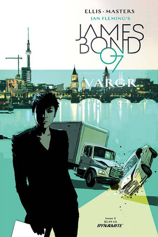 JAMES BOND #2 CVR A REARDON - Packrat Comics