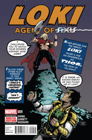 LOKI AGENT OF ASGARD #9 AXIS - Packrat Comics