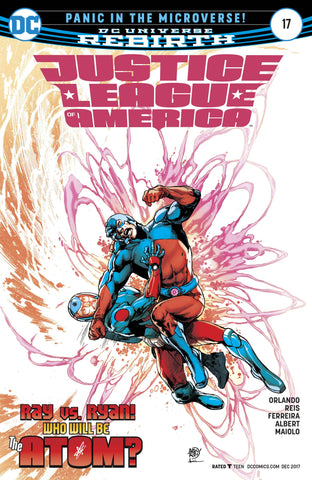 JUSTICE LEAGUE OF AMERICA #17 - Packrat Comics